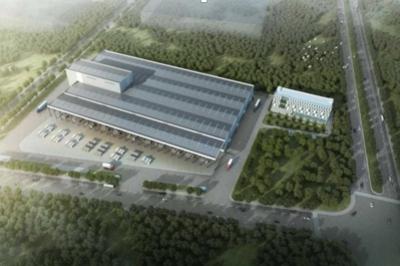 佛山建装装配式绿色建筑基地1#PC构件厂房