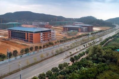 广东建设职业技术学院清远校区首期工程